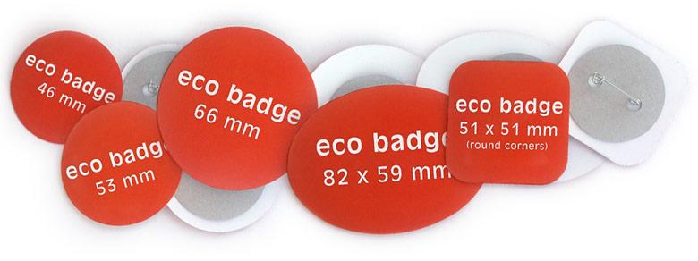 Öko-Buttons, Nadelrückseiten