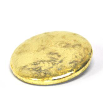 Goldbutton, Button mit Blattgold