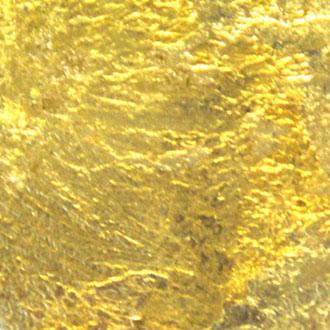 Goldbutton, Blattgold
