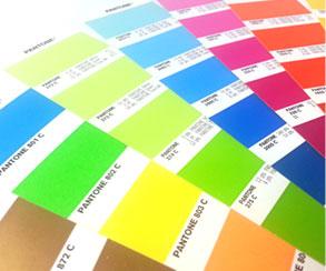 Buttons, Farben, Pantone, CMYK