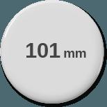 101mm rund