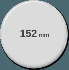 152mm rund