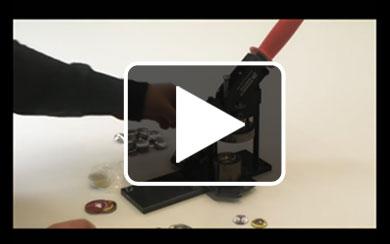 Buttonmaschine, Video Bedienung